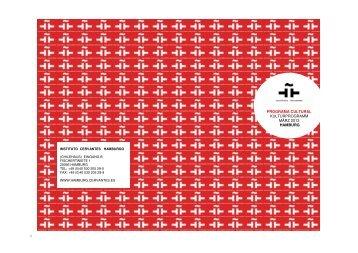 Programm PDF final - Instituto Cervantes Hamburg