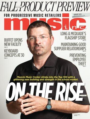 long & mcquade - Music Inc. Magazine