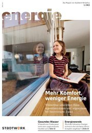 ENERGIE 01/2013(PDF, 5.4 MB) - Stadtwerk Winterthur