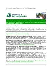 Newsletter Nachbarschaftsbörse: September ... - Ackermannbogen