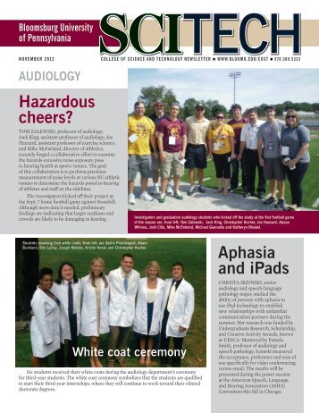 Hazardous cheers? Aphasia and iPads - Bloomsburg University