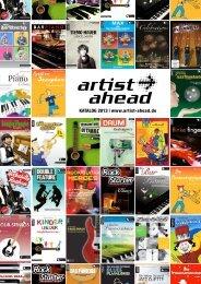 KATALOG 2013 | www.artist-ahead.de