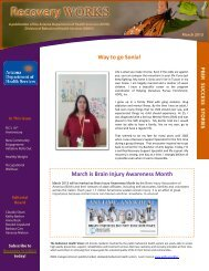 March 2013 - Arizona Department of Health Services