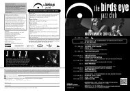 Programm als PDF - The Bird's Eye