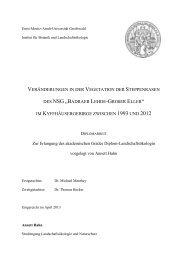 """DES NSG """"BADRAER LEHDE-GROßER ELLER"""" - Institut für Botanik ..."""