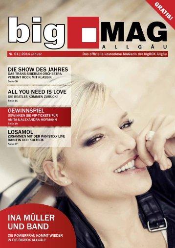 bigMAG 01/2014 - bigBOX Allgäu