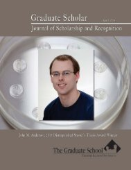 2013 Journal of Scholarship - Eastern Illinois University