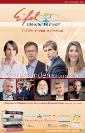 Programmheft 2014 - Eifel Literatur Festival