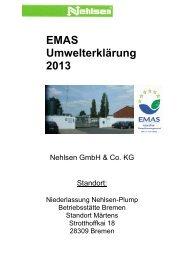 Umwelterklärung 2013-gültig - EMAS