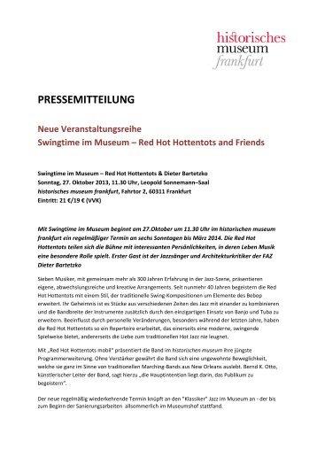 PRESSEMITTEILUNG - Frankfurt am Main
