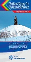 Kulturtipps Dezember 2013 PDF 7803,2 kB - Stadt Gelsenkirchen
