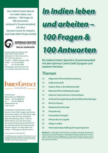 100 Fragen & 100 Antworten - German Centre Delhi.Gurgaon