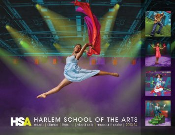 2013-2014 HSA Course Catalog - The Harlem School of the Arts