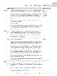 Menschen A2 Unterrichtsplan Lektion 18 - Hueber