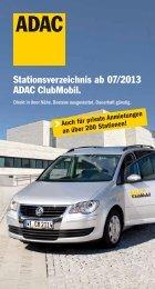 Vermietstationen - ADAC