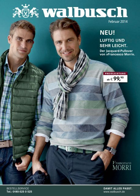 professional sale closer at order online Walbusch-Monatskatalog