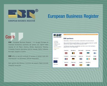 European Business Register - InfoCamere