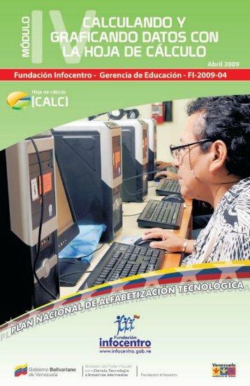 c) Hoja de Cálculo - Fundación Infocentro