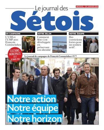 Journal des Sétois, journal de campagne de François Commeinhes