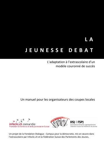 Manuel pour les organisateurs (PDF) - Infoklick.ch