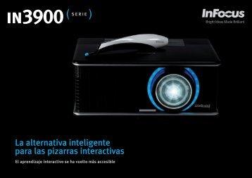InFocus IN3900 Series Interactive Projector Datasheet (Spanish)