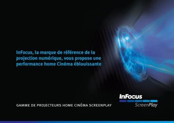 InFocus ScreenPlay Projector Series Brochure (French)