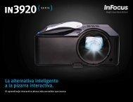 InFocus IN3920 Series Datasheet (Latin Spanish)