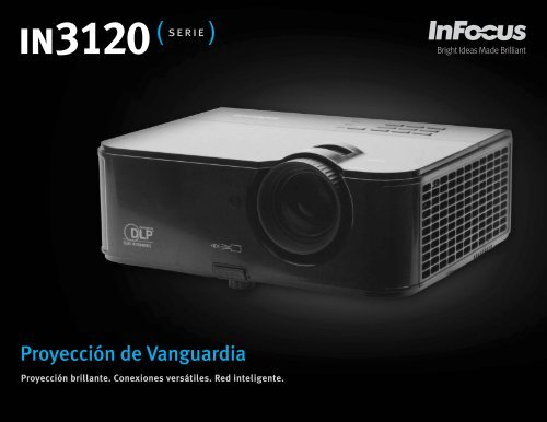 InFocus IN3120 Series Datasheet (Latin Spanish)