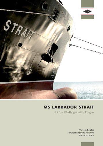 MS LABRADOR STRAIT - Carsten Rehder
