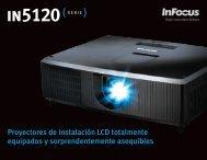 Proyectores de instalación LCD totalmente - InFocus