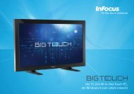 InFocus BigTouch Datasheet (German)