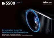 InFocus IN5530 Series Datasheet (German)