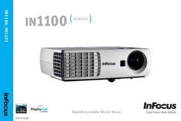 IN1100, IN1102 - InFocus