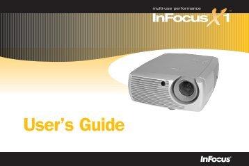 User's Guide - InFocus