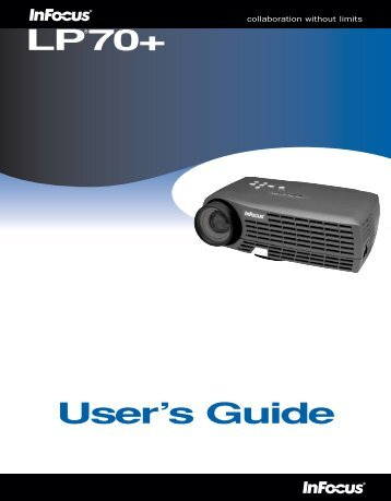 LP®70+ User's Guide - InFocus