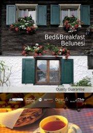 Bed&Breakfast Bellunesi - Dolomiti Turismo