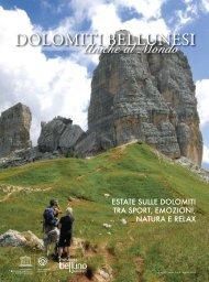 Dolomiti Bellunesi patrimonio Unesco - Dolomiti Turismo