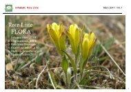 Infoblatt Rote Liste - N° 1 - Info Flora