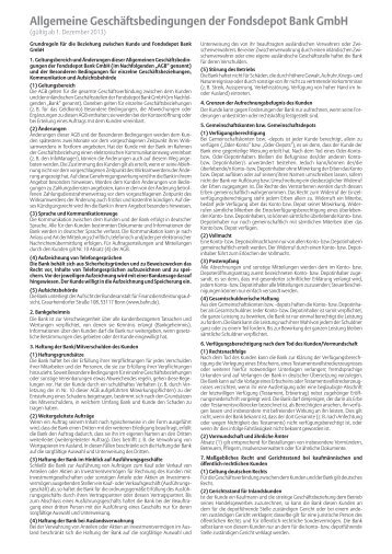 (AGB), Besondere Bedingungen (BB) und Preis - Meag
