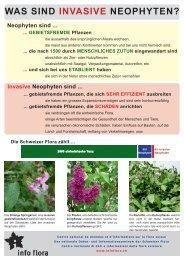 Poster - Info Flora
