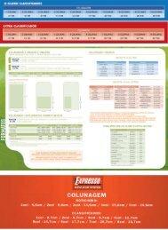 tabela de preços - Infoglobo