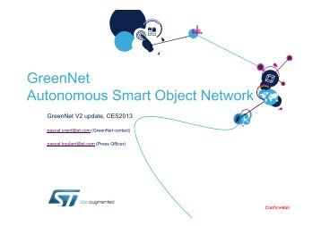 GreenNet Nodes - infohightech