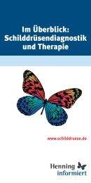 Im Überblick: Schilddrüsendiagnostik und Therapie - Infoline ...
