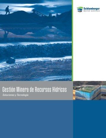 Gestión Minera de Recursos Hídricos - Schlumberger
