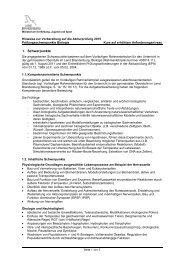 Biologie - Bildungsserver Berlin - Brandenburg