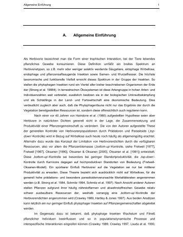 A. Allgemeine Einführung