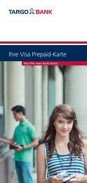 Ihre Visa Prepaid-Karte - Targobank