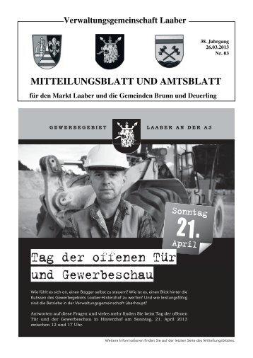 Tag der offenen Tür und Gewerbeschau - Gemeinde Brunn