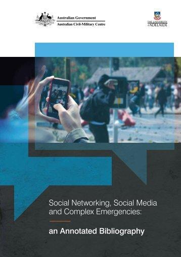 Social Networking, Social Media and Complex Emergencies: an ...