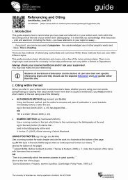 Quick guide to referencing and citing - University of Aberdeen